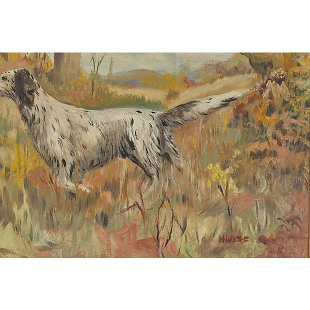 The Hunting Dog Oil Painting - Image 2 of 3