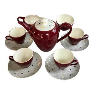 Mid Century J & G Meakin English Tea Service - Set of 11
