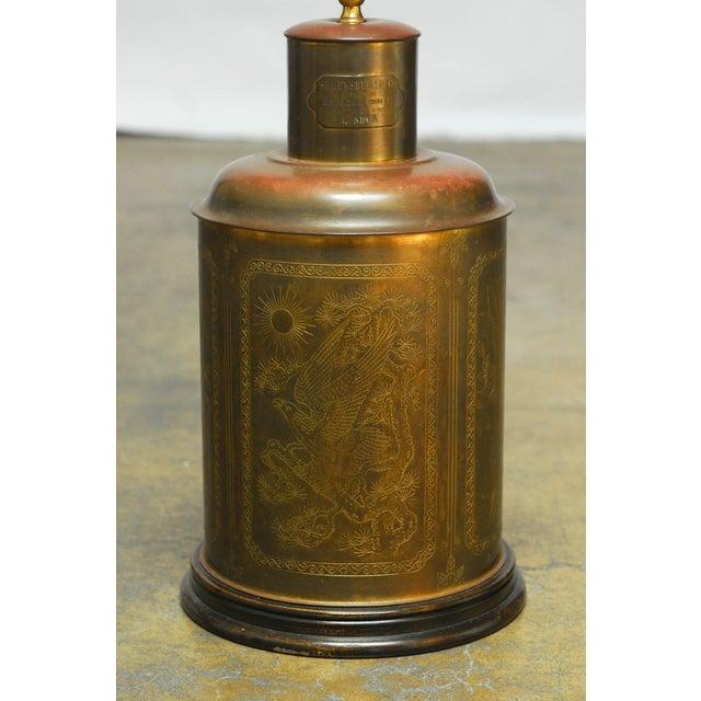 Brass Shrewsbury Tea Caddy Lamp - Image 2 of 6
