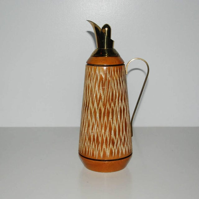 Aldo Tura Wood & Brass Decanters - A Pair - Image 6 of 11