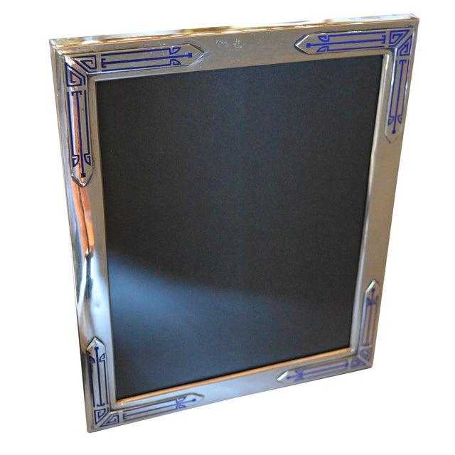 Art Deco Sterling Frame - Image 1 of 7