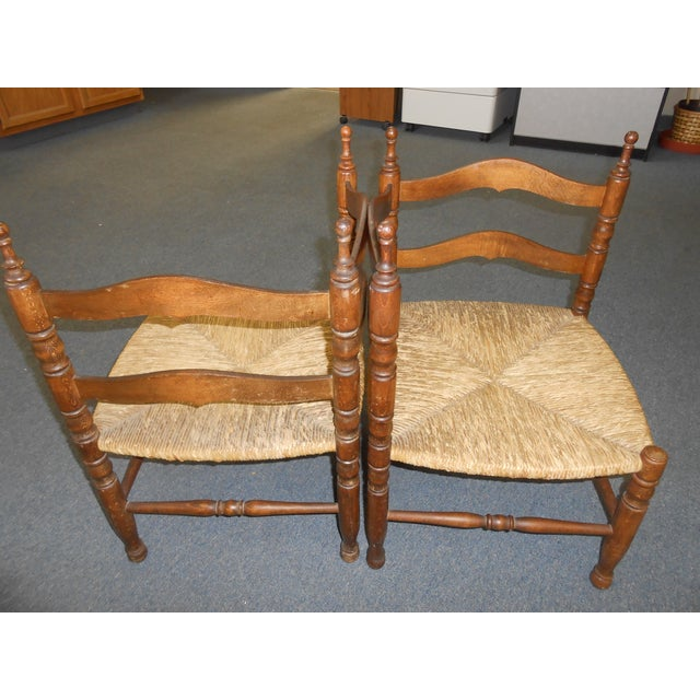 Corner Chairs - A Pair - Image 3 of 9