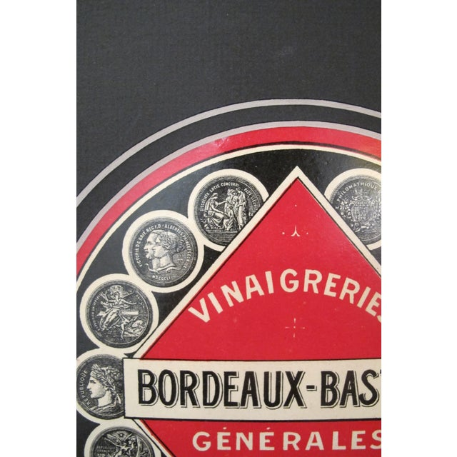 1930s French Art Deco Food Label, Vinegar - Image 3 of 4
