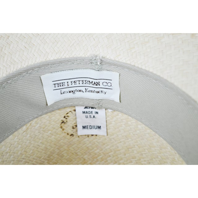 Vintage Genuine Hand-Woven Panama Hat - Image 9 of 10
