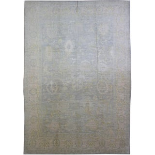 Aara Rugs Inc. Hand Knotted Oushak Rug - 9′8″ × 12′8″