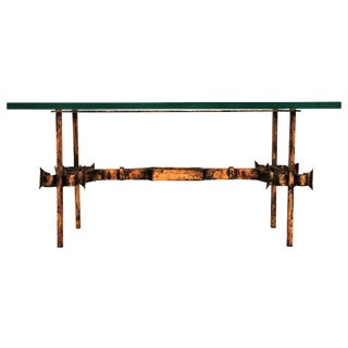 Gilded Petite Coffee Table