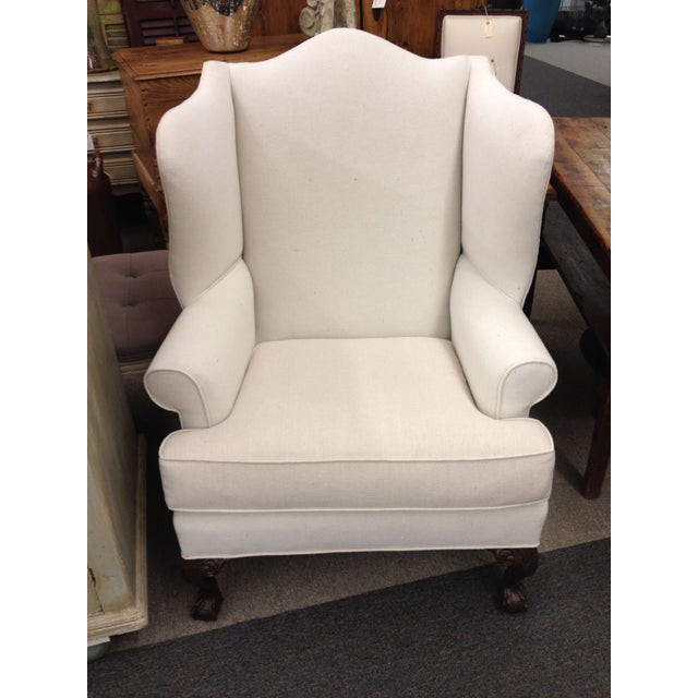Image of High Back Wing Chair