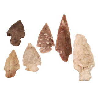 East Texas Arrowheads - Set of 6