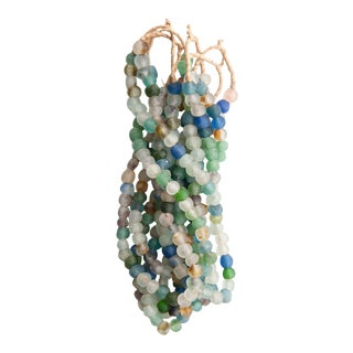 Multi-Colored Glass Bead Strands - Set of 6