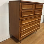 Image of Mid Century Johnson Carper Tall Dresser