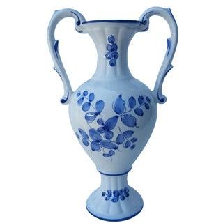 Vintage Hand-Painted Portugese Vase