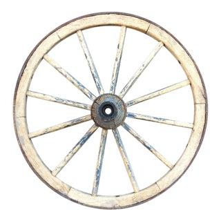 Wagon Wheel Sculptural Decor