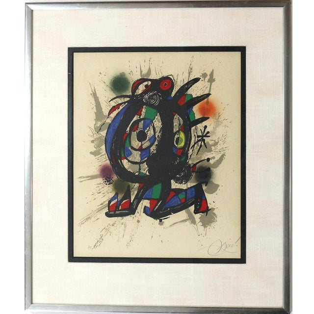 1960s Joan Miró Lithograph - Image 5 of 5