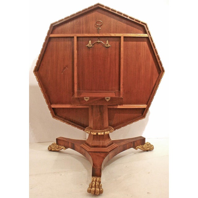 English Regency Period Tilt-top Center Table - Image 2 of 7