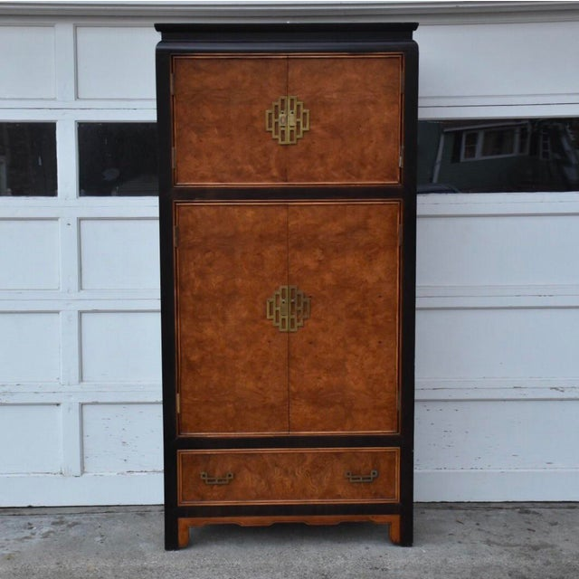 Century Furniture Chin Hua Collection Armoire - Image 2 of 11