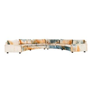 Rare Milo Baughman Sectional Sofa