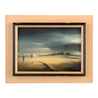 Surreal Desert Landscape Oil Painting by Robert Watson