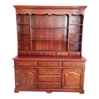 Open China Cabinet - Theodore Alexander Solid Walnut