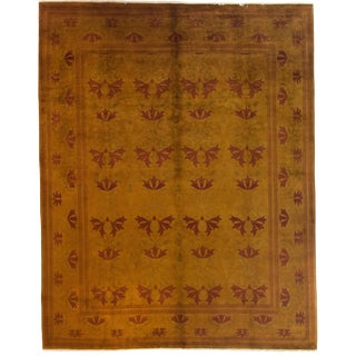"Traditional Hand Knotted Area Rug - 8'1"" X 10'1"""
