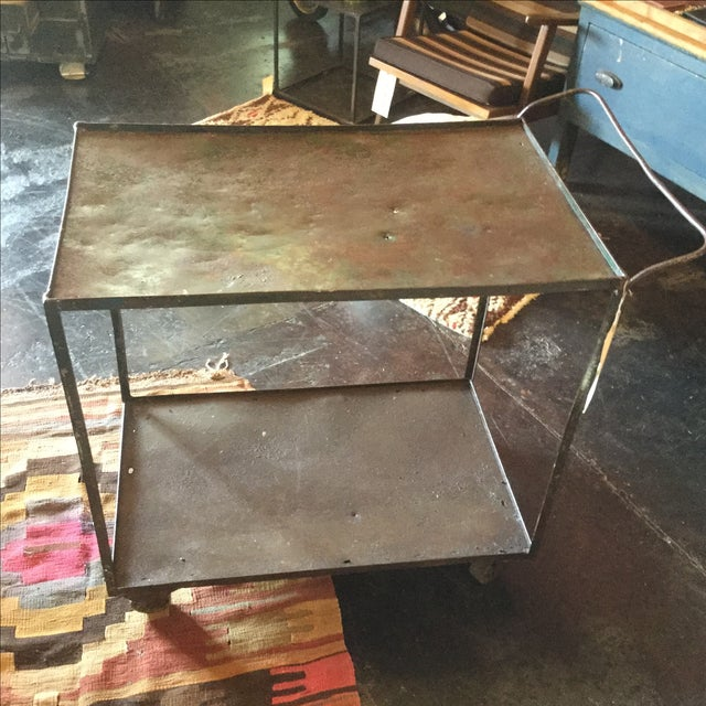 Industrial Bar Cart - Image 6 of 10