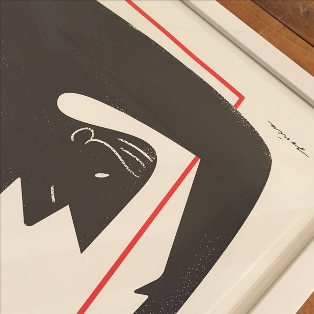 "Polish Design Print - ""Man in a Box"" - Image 7 of 7"
