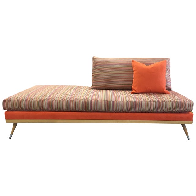Custom Mid-Century Modern Sofa Lounge - Image 1 of 10