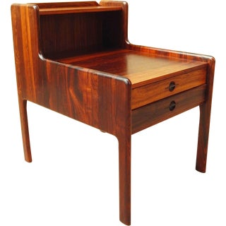 Danish Mid-Century Modern Rosewood Side Table 1960