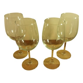 Luminarc Clear Glass Thin Stemmed Wine Glasses- Set of 4