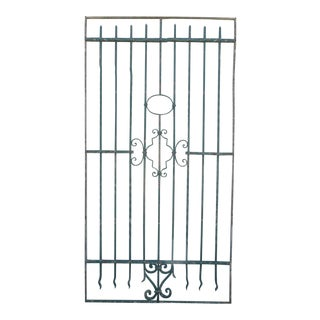 Antique Victorian Iron Gate Architectural Element