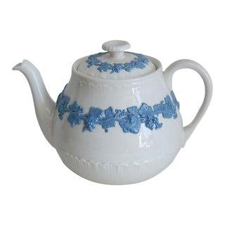 Vintage Wedgwood Queensware Teapot