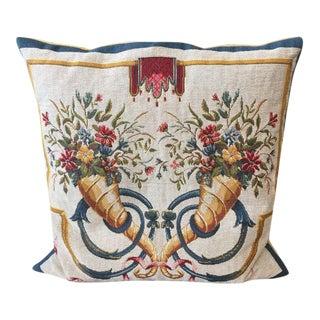 Handmade Jules Pansu Tapestry Pillow