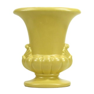 Royal Haeger Yellow Vase