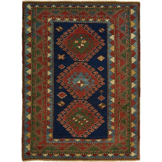 An Antique Bordjalou Kazak Rug