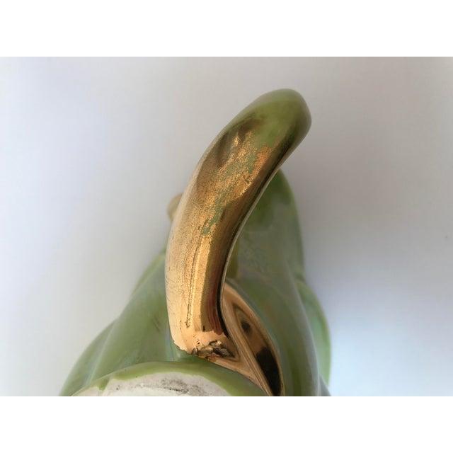 Chartreuse Green Flower Vase - Image 9 of 9