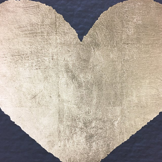 Heart Painting on Canvas by Oliver Gar With Back Lighting - Image 4 of 8