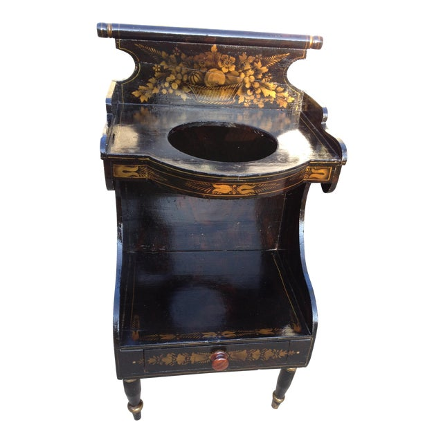 Pre-Civil War Hitchock Wash Stand - Image 1 of 8