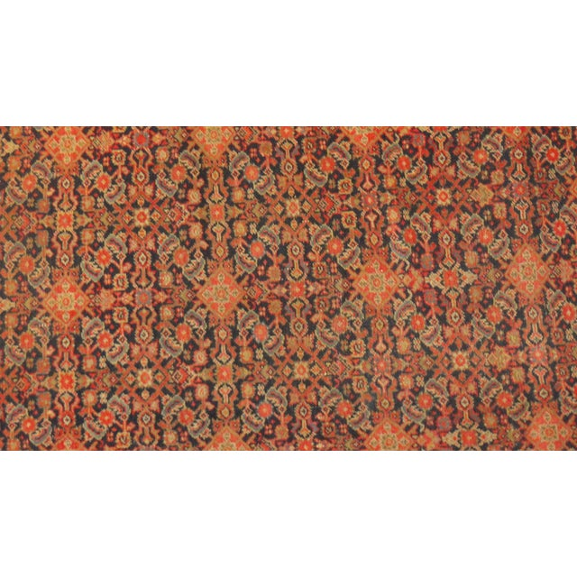 """Antique Persian Malayer Runner Rug - 15'5"""" x 3'2"""" - Image 2 of 4"""
