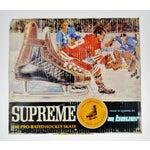 Image of Vintage 1960's Bauer Hockey Skates Box and Skates