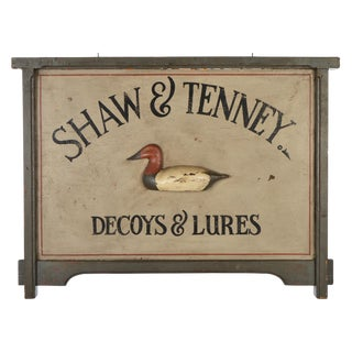 Decoys and Lures Trade Sign