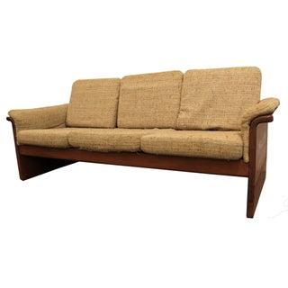 Mid-Century Danish Modern Teak Sofa by Mobler