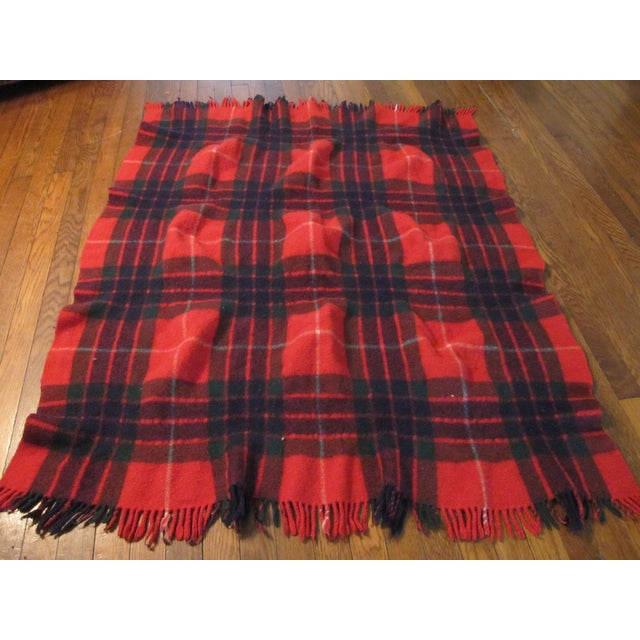 Classic Plaid Wool Blanket - Image 4 of 5