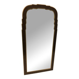 Vintage Tortoiseshell Regency-Style Mirror