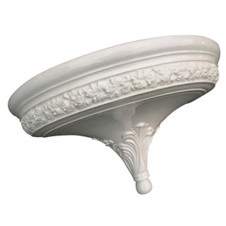 Italian Hanging White Wall Basin
