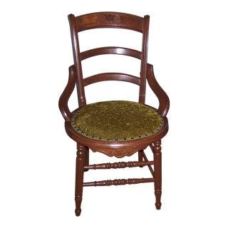 Dutch Wooden Desk Chair