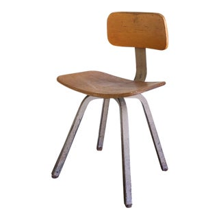 Vintage School House Chair by Royal Industrial