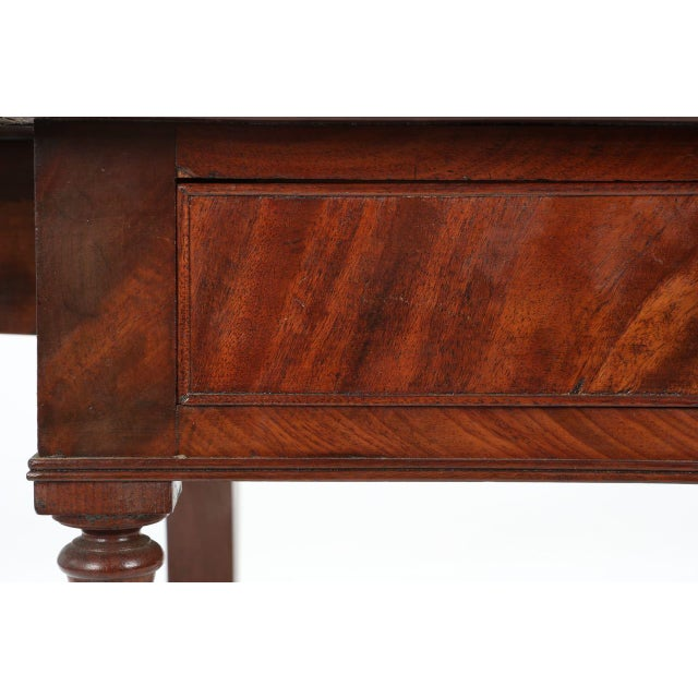 Image of American Classical Mahogany Library Table