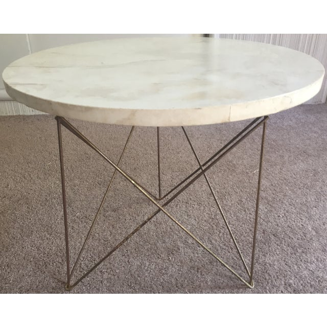 50s Brancusi Atomic Side Table Mid Century Modern - Image 2 of 8