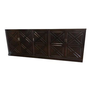 2-Piece Mahogany Sideboard