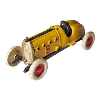 Antique Cast Iron Speed Racer Toy