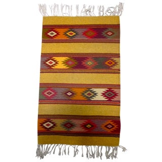 Wide Ruins Navajo Inspired Rug or Saddle Blanket